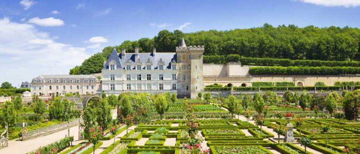 La visite du Château de Villandry